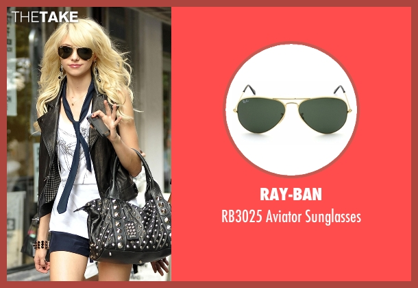 Ray-Ban sunglasses from Gossip Girl seen with Jenny Humphrey (Taylor Momsen)