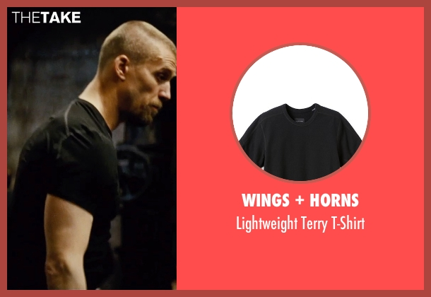 Wings + Horns black t-shirt from Mission: Impossible - Rogue Nation seen with Jens Hultén (Unknown Character)