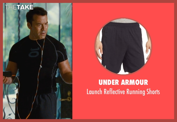 Under Armour black shorts from Entourage seen with Jeremy Piven (Ari Gold)