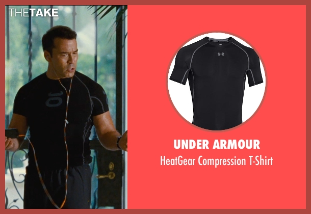 Under Armour black t-shirt from Entourage seen with Jeremy Piven (Ari Gold)
