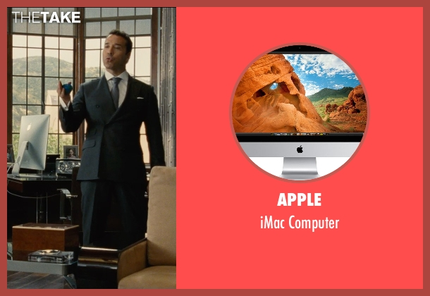 Apple computer from Entourage seen with Jeremy Piven (Ari Gold)