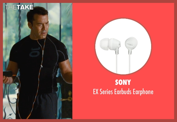 Sony earphone from Entourage seen with Jeremy Piven (Ari Gold)