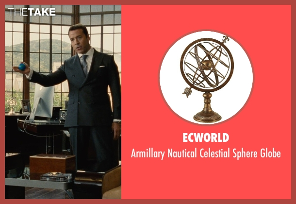 ECWorld globe from Entourage seen with Jeremy Piven (Ari Gold)