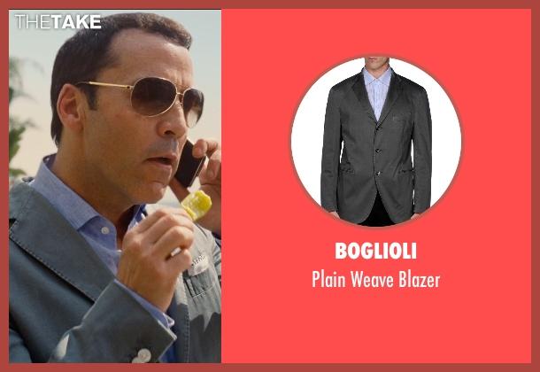 Boglioli gray blazer from Entourage seen with Jeremy Piven (Ari Gold)