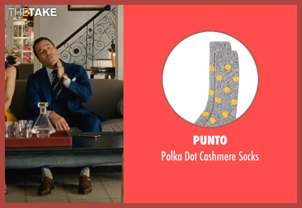 Punto gray socks from Entourage seen with Jeremy Piven (Ari Gold)