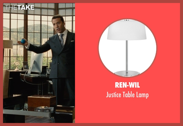 Ren-Wil lamp from Entourage seen with Jeremy Piven (Ari Gold)