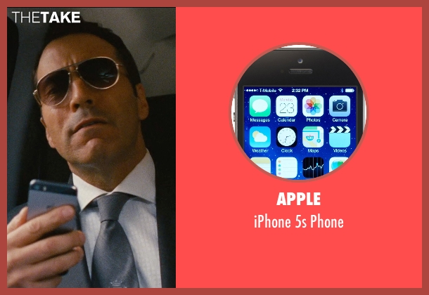 Apple phone from Entourage seen with Jeremy Piven (Ari Gold)