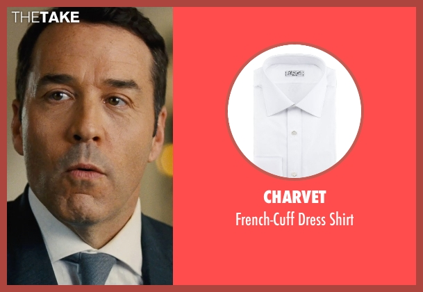 Charvet white shirt from Entourage seen with Jeremy Piven (Ari Gold)