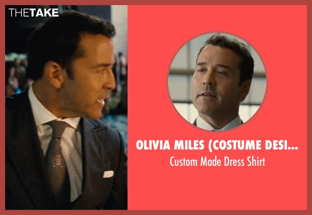 Olivia Miles (Costume Designer) and Domenico Vacca white shirt from Entourage seen with Jeremy Piven (Ari Gold)