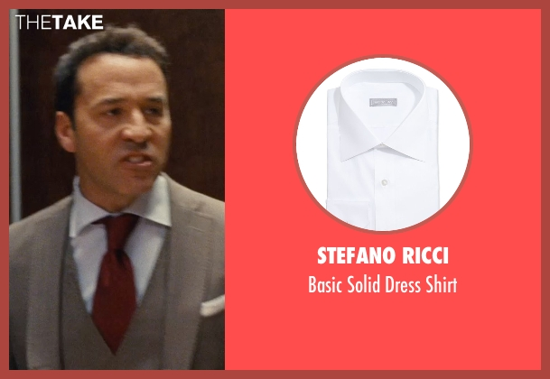 Stefano Ricci white shirt from Entourage seen with Jeremy Piven (Ari Gold)