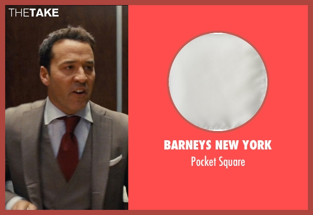 Barneys New York white square from Entourage seen with Jeremy Piven (Ari Gold)