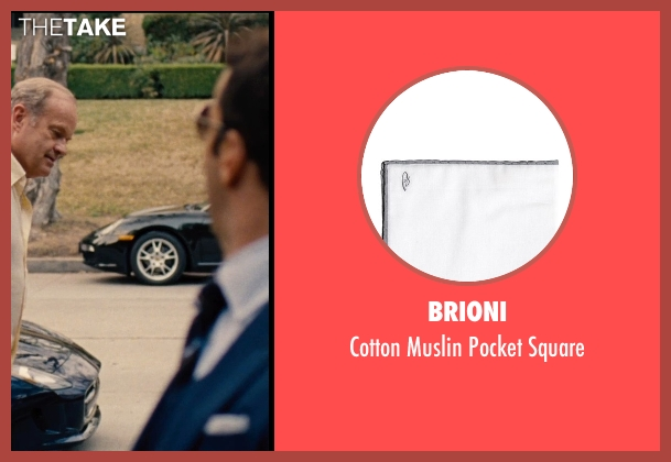 Brioni white square from Entourage seen with Jeremy Piven (Ari Gold)