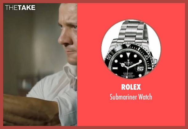Rolex silver watch from Mission: Impossible - Ghost Protocol seen with Jeremy Renner (William Brandt)
