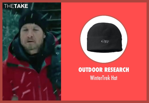 Outdoor Research black hat from The Bourne Legacy seen with Jeremy Renner (Aaron Cross)