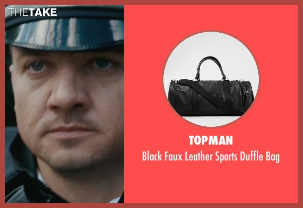 Topman black bag from The Town seen with Jeremy Renner (James Coughlin)