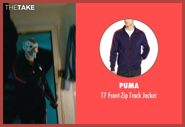 Puma blue jacket from The Town seen with Jeremy Renner (James Coughlin)