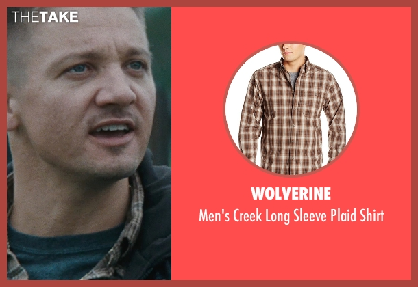 Wolverine brown shirt from The Town seen with Jeremy Renner (James Coughlin)