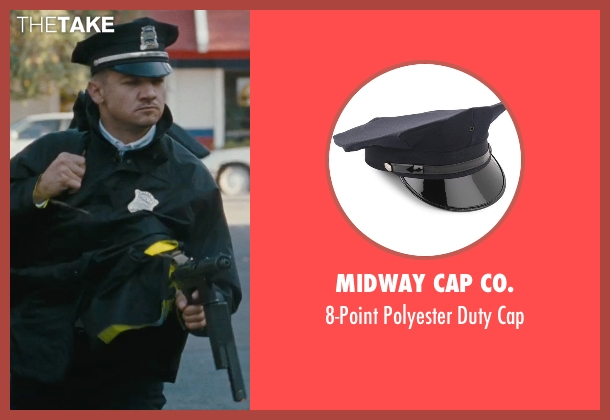 Midway Cap Co. cap from The Town seen with Jeremy Renner (James Coughlin)