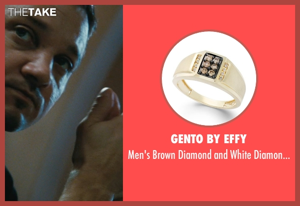 Gento by Effy gold ring from The Town seen with Jeremy Renner (James Coughlin)