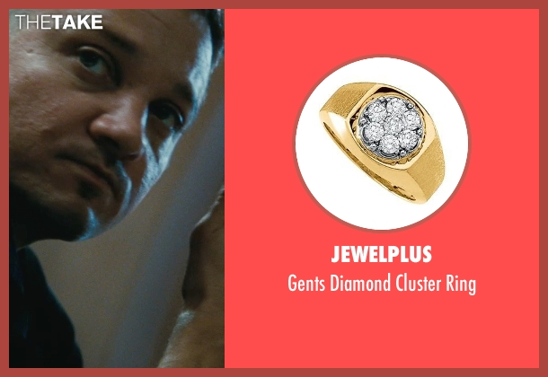 Jewelplus gold ring from The Town seen with Jeremy Renner (James Coughlin)