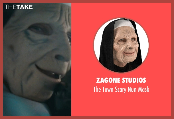 Zagone Studios mask from The Town seen with Jeremy Renner (James Coughlin)