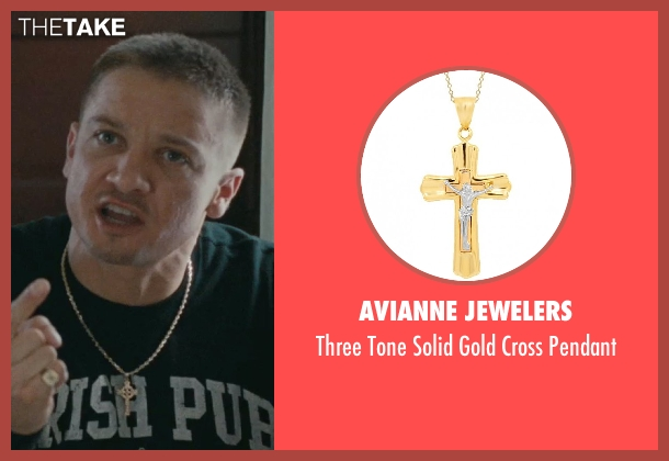 Avianne Jewelers pendant from The Town seen with Jeremy Renner (James Coughlin)