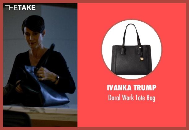 Ivanka Trump black bag from Jessica Jones seen with Jeri Hogarth (Carrie-Anne Moss)