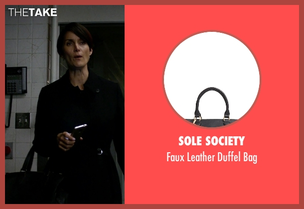 Sole Society black bag from Jessica Jones seen with Jeri Hogarth (Carrie-Anne Moss)