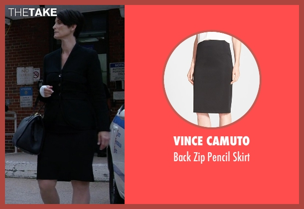 Vince Camuto black skirt from Jessica Jones seen with Jeri Hogarth (Carrie-Anne Moss)