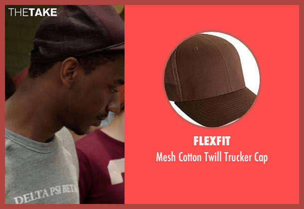 Flexfit brown cap from Neighbors seen with Jerrod Carmichael (Garf)