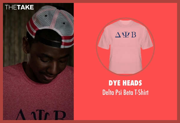 Dye Heads pink t-shirt from Neighbors seen with Jerrod Carmichael (Garf)
