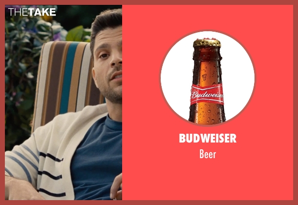 Budweiser beer from Entourage seen with Jerry Ferrara (Turtle)