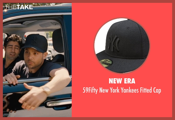 New Era black cap from Entourage seen with Jerry Ferrara (Turtle)