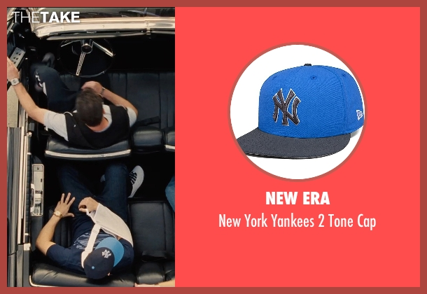 New Era blue cap from Entourage seen with Jerry Ferrara (Turtle)