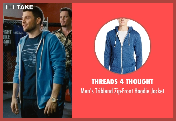 Threads 4 Thought blue jacket from Entourage seen with Jerry Ferrara (Turtle)