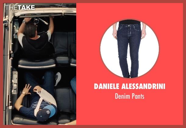 Daniele Alessandrini blue pants from Entourage seen with Jerry Ferrara (Turtle)