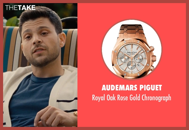 Audemars Piguet gold chronograph from Entourage seen with Jerry Ferrara (Turtle)