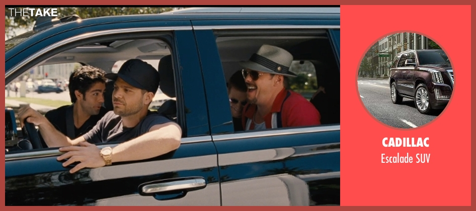 Cadillac suv from Entourage seen with Jerry Ferrara (Turtle)