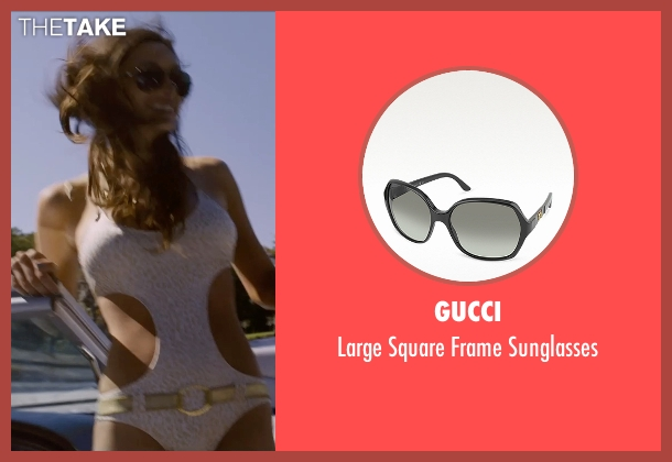Gucci black sunglasses from Self/Less seen with Jesica Ahlberg (Beautiful Woman #1)