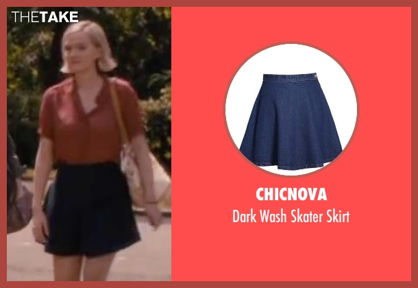 Chicnova blue skirt from The Disappearance of Eleanor Rigby seen with Jess Weixler (Katy Rigby)