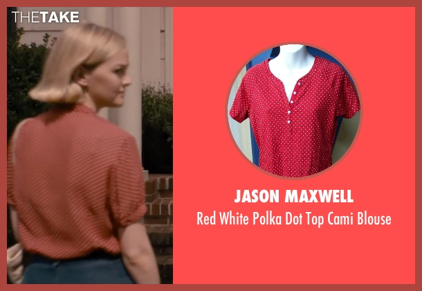 Jason Maxwell red blouse from The Disappearance of Eleanor Rigby seen with Jess Weixler (Katy Rigby)