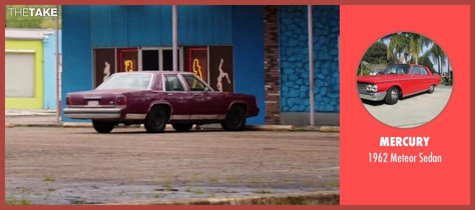 Mercury sedan from American Ultra seen with Jesse Eisenberg (Mike Howell)
