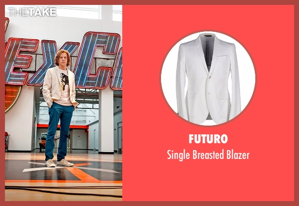 Futuro white blazer from Batman v Superman: Dawn of Justice seen with Jesse Eisenberg (Lex Luthor)