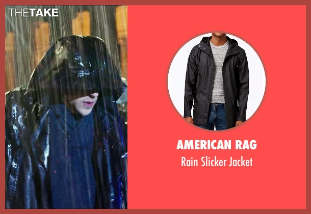 American Rag black jacket from Now You See Me 2 seen with Jesse Eisenberg (J. Daniel Atlas)