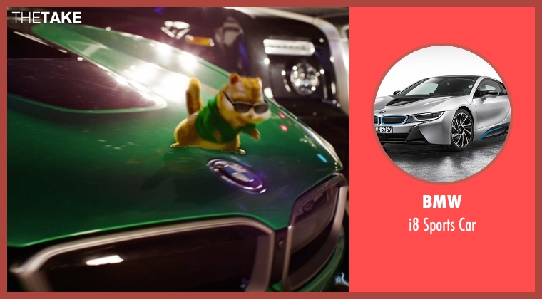BMW car from Alvin and the Chipmunks: The Road Chip seen with Jesse McCartney (Theodore (voice))
