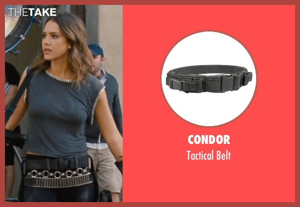 Condor belt from Entourage seen with Jessica Alba (Unknown Character)