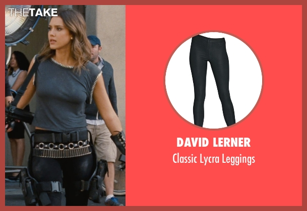 David Lerner black leggings from Entourage seen with Jessica Alba (Unknown Character)