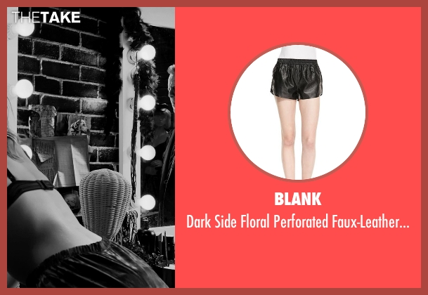 Blank black shorts from Frank Miller's Sin City: A Dame To Kill For seen with Jessica Alba (Nancy Callahan)