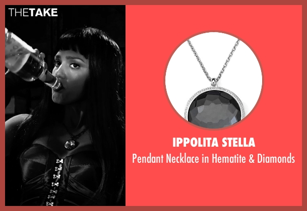 Ippolita Stella silver diamonds from Frank Miller's Sin City: A Dame To Kill For seen with Jessica Alba (Nancy Callahan)