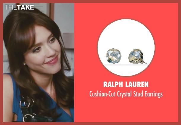 Ralph Lauren silver earrings from Little Fockers seen with Jessica Alba (Andi Garcia)